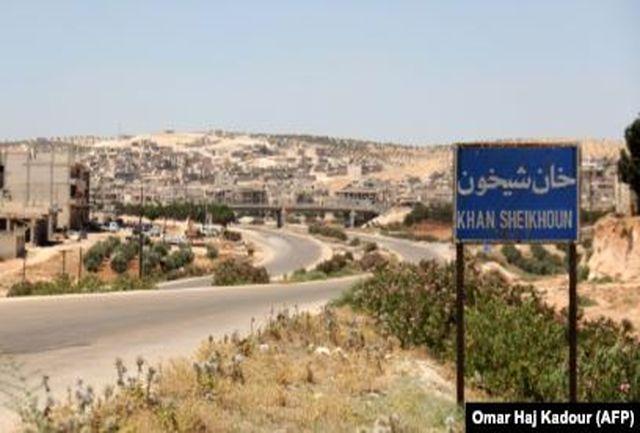 ورود نیروهای سوری به شهر خانشیخون در جنوب ادلب