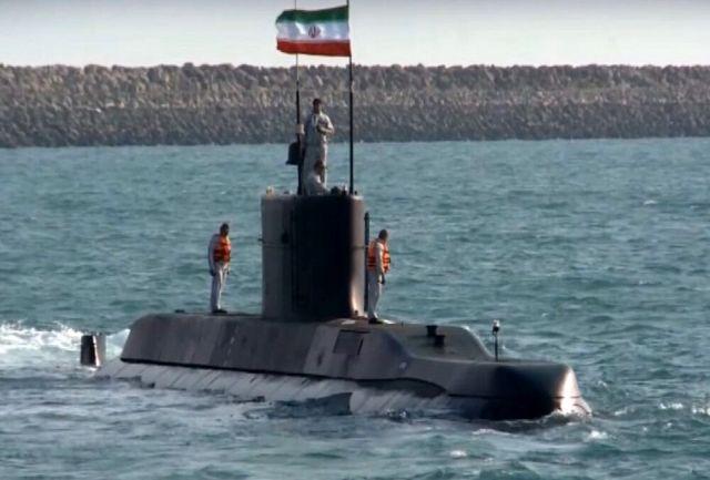 نخستین حضور زیردریایی تمام ایرانی فاتح در رزمایش