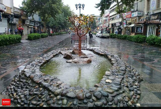 اکثر نقاط کشور در هفته اول پاییز بارانی میشود