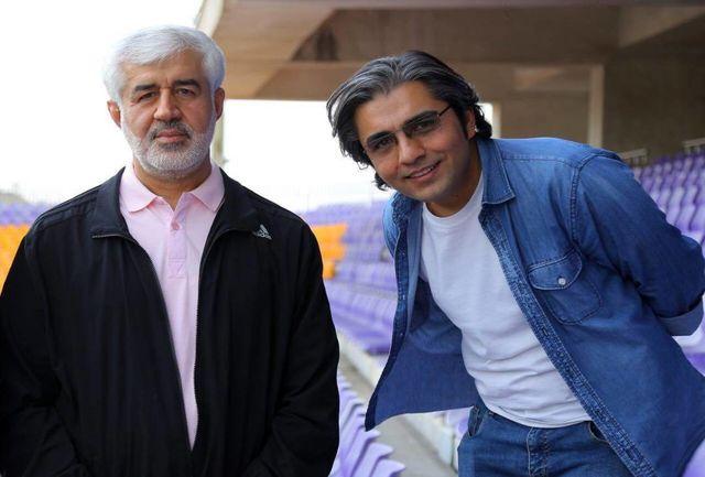 حضور رییس ورزشهای همگانی استان تهران  در فیلم آبی به رنگ آسمان