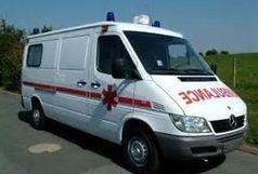 آمبولانس جان عابر پیاده را گرفت