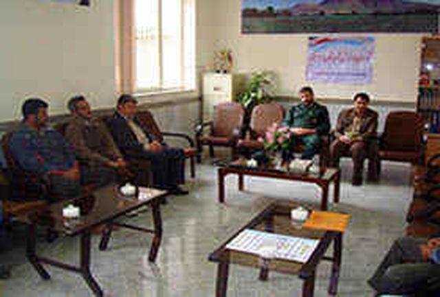 برگزاری جلسه شورای ورزش در هرسین