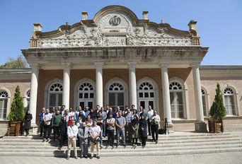 بازدید خبرنگاران از اماکن تاریخی شهر قزوین