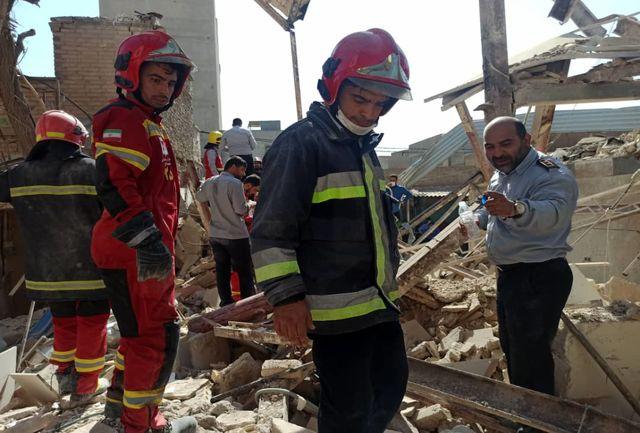 انفجار در منزل مسکونی حادثه آفرید