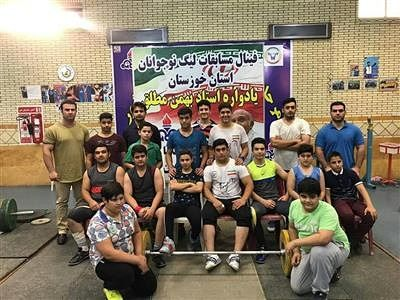 تیم مسجدسلیمان قهرمان مسابقات لیگ برتر وزنه برداری خوزستان اعلام شد