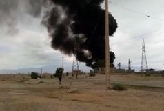 آتش سوزی در مجموعه 167 شرکت نفت