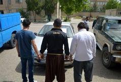 دستگیری سارقان خودرو در قزوین