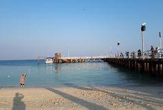 بستر دریا و ساحل جزیره کیش پاکسازی شد