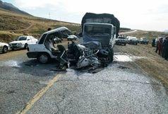 بیتوجهی راننده در لوشان حادثه آفرید