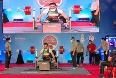 نایب قهرمانی ایران در جام جهانی پاراوزنهبرداری