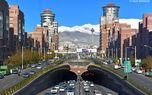 کیفیت هوا در مناطق پرتردد تهران کاهش یافت