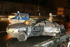 3 کشته در حادثه  رانندگی جاده ساوه - همدان