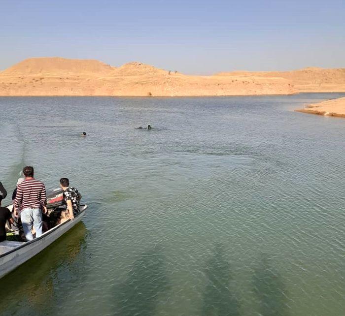 جوان ۲۱ ساله غرق شده رودخانه شهر عنبر پیدا شد