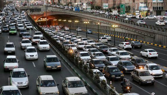 وضعیت ترافیکی تهران در آخرین سهشنبه اردیبهشت