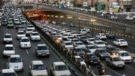 گره ترافیکی در اتوبانهای تهران