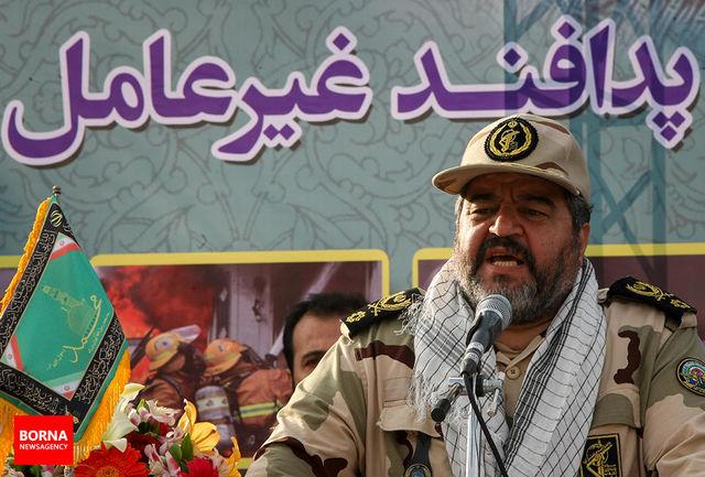 سردار جلالی شهادت سرتیپ دوم حاصل احمدی را تسلیت گفت