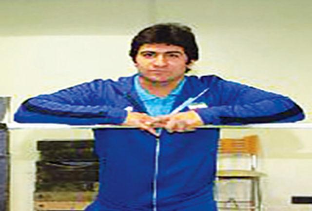 حضور وزنه بردار بروجردی در اردوی تیم ملی کشور