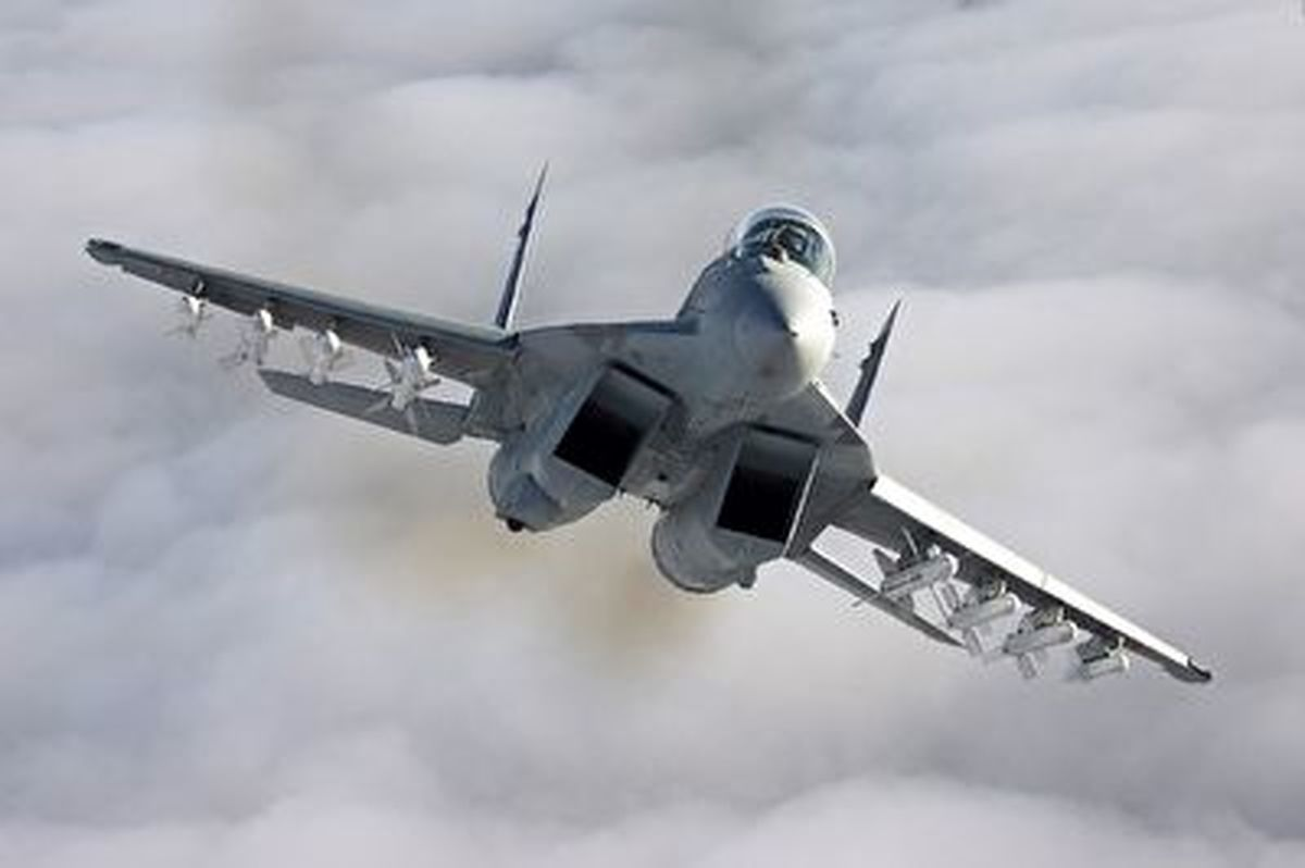 فیلم حمله جنگندههای آمریکایی به سوریه