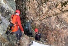 نجات جوان ۳۰ساله در کوهستان شمیرانات