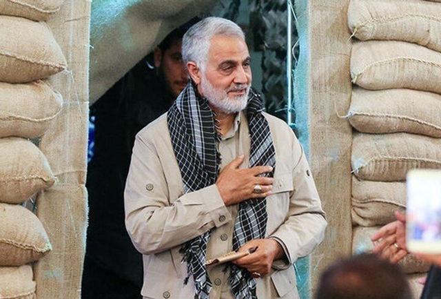 نمایش چهار دهه فعالیت شهید سلیمانی در تلویزیون