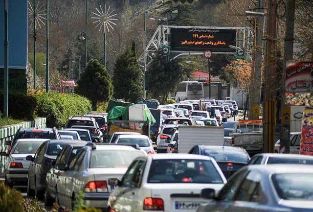 جاده چالوس در ایام عید فطر یکطرفه میشود
