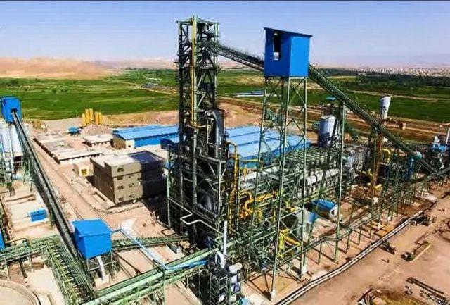 رشد ۵۵ درصدی تولید آهن اسفنجی در فولاد میانه طی ۵ ماهه سال 99