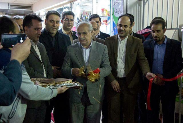 هفتمین نمایشگاه گل و گیاه، مبلمان ، خدمات شهری و حمل و نقل عمومی در رشت افتتاح شد