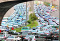 ترافیک صبحگاهی تهران زودتر آغاز شد