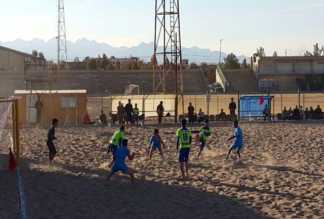 آغاز مسابقات مرحله دوم لیگ برتر فوتبال ساحلی کشور