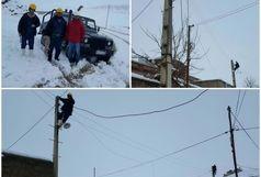 شناسایی و اصلاح نقاط حادثهخیز شبکه برق پیرانشهر سبب کاهش قطعی در روزهای بارندگی شد