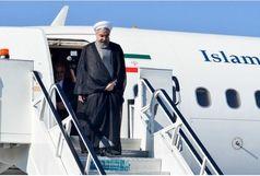 روحانی وارد نیویورک شد