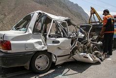 یک کشته و 3 مجروح حاصل واژگونی پراید