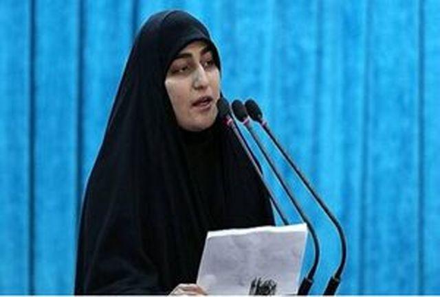 نحوه برخورد جالب سردار حاج قاسم سلیمانی با زن کمحجاب معترض