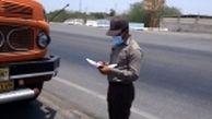 کنترل محموله های چوب در جاده های مواصلاتی شهرستان بندرعباس
