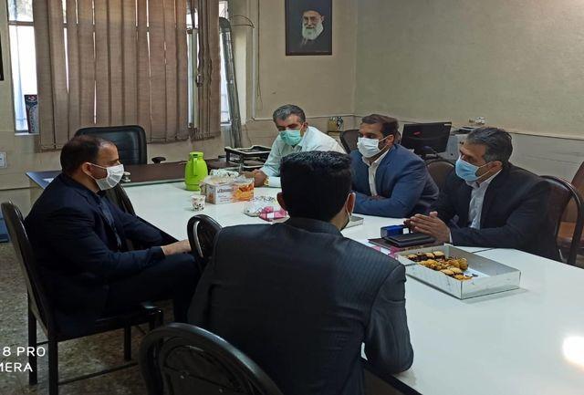 برگزاری اولین جلسه اعضای هیأت رزمی خرم آباد با رئیس سازمان بسیج ورزشکاران لرستان