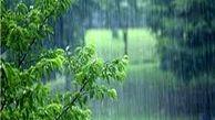 باران سیل آسا در تهران + فیلم