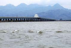 حجم آب دریاچه ارومیه از ۴میلیارد مترمکعب عبور کرد