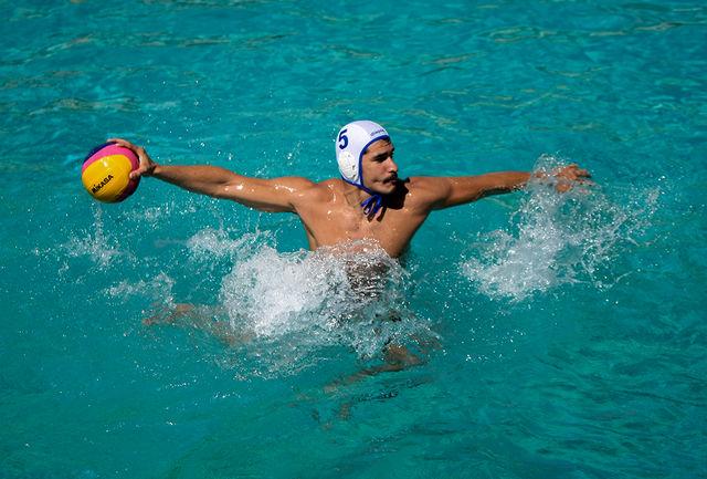 حضور ورزشکار کرمانشاهی در رقابتهای واترپلو قهرمانی آسیا