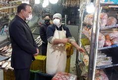 ۱۰۰ تن مرغ در قزوین توزیع شد