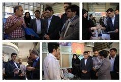 بازدید مشاور وزیر بهداشت از سومین نمایشگاه توانمندیها و دستاوردهای تجهیزات پزشکی