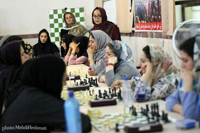پایان جشنواره شطرنج بانوان کشور در مشهد