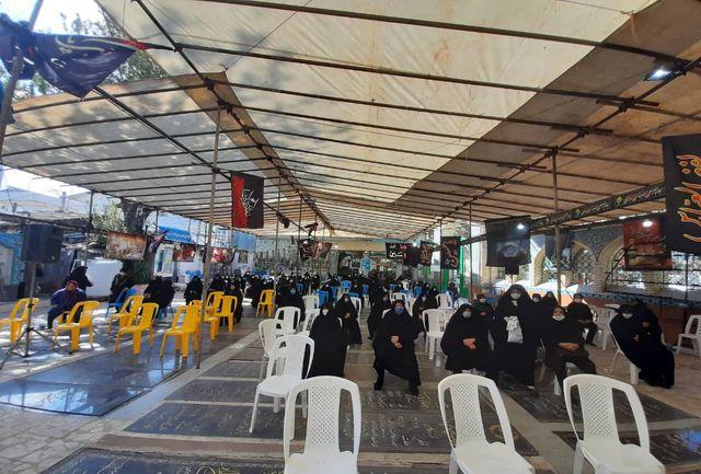 مراسم دهه آخرماه صفر در مسجد آقا امیر صادق محله جیرسر