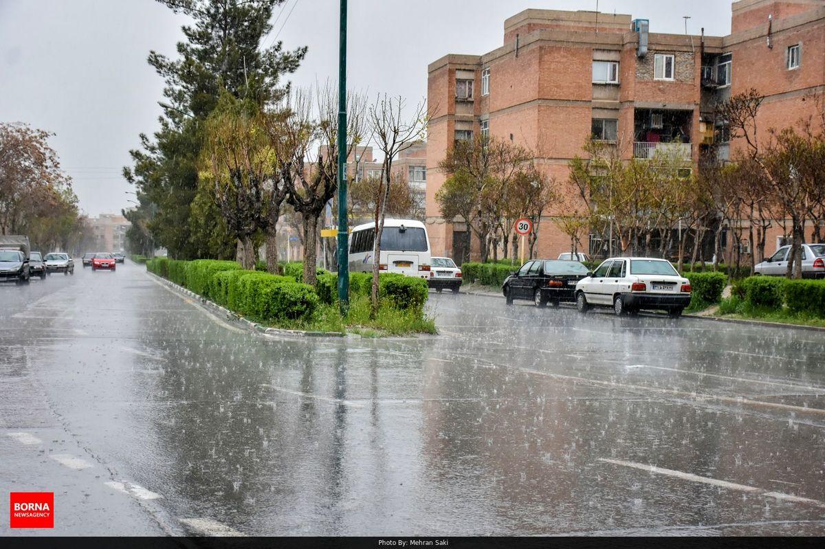 سامانه بارشی تا جمعه فعال است/بارش برف و باران در کشور