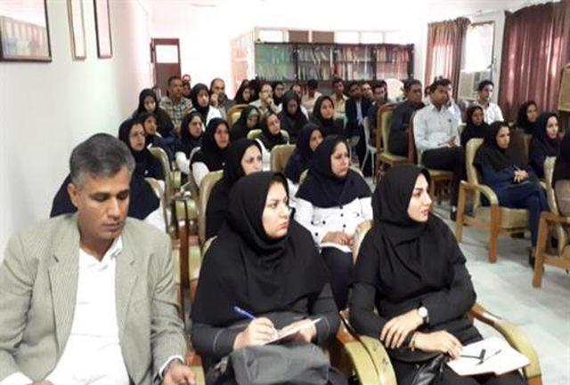 برگزاری کارگروه تخصصی طرح پرداخت مبنتی بر عملکرد حوزه شرق هرمزگان در میناب