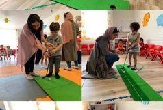 آغاز طرح استعدادیابی مینی گلف در مهد کودک های سطح شهر همدان