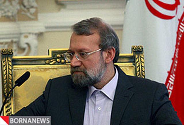 لاریجانی با رییس مجلس نمایندگان جمهوری شرقی اروگوئه دیدار کرد