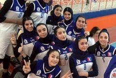 پیروزی بلندقامتان بسکتبال اروند در مقابل دختران کرمان