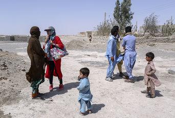 بحران آب در مناطق اطراف زابل