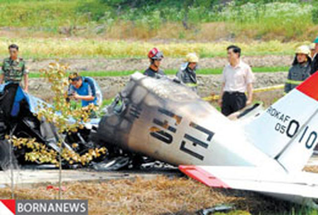 جدیدترین تصاویر از حادثه سقوط هواپیما در روسیه