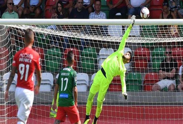 نمره متوسط عابدزاده در هفته بیست و چهارم لیگ پرتغال